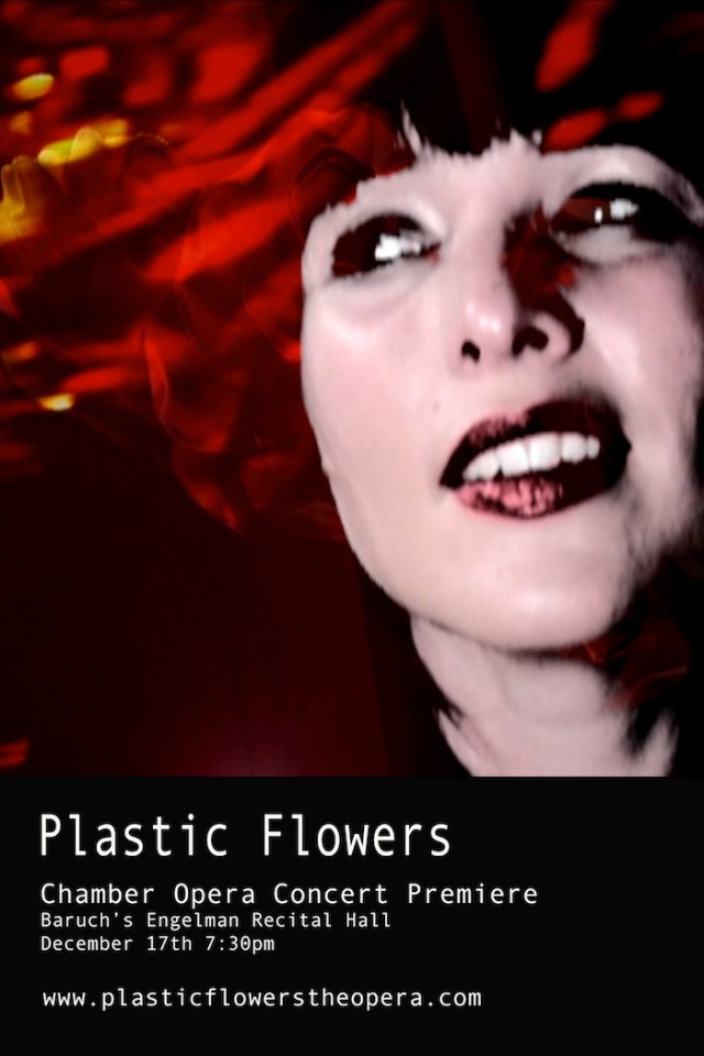 Plastic Flowers - Poster 1a