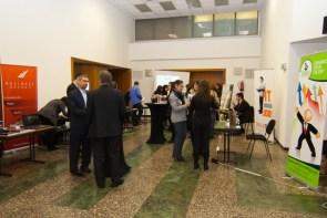 36 фирми, които предлагат подбор на персонал, обучения, тимбилдинг програми, pay-roll услуги, трудова медицина и др. представиха дейността си на изложението