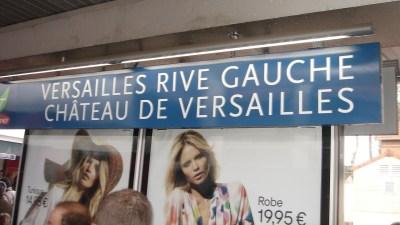 Embarque para Versailles Rive Gauche