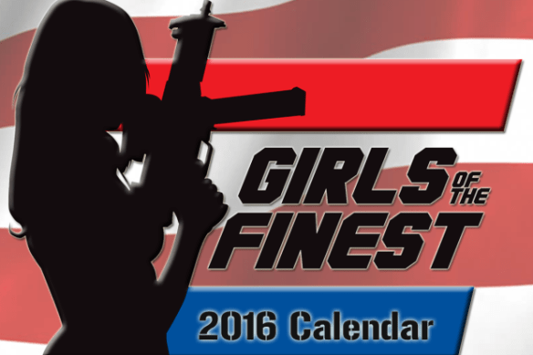 Girls of the Finest 2016 calendar
