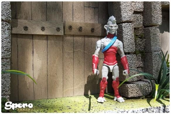 animal warriors of the kingdom adventure armor pale