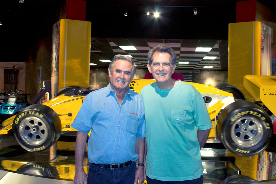Al Unser Return to Racing at SVRA Brickyard Invitational