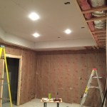 Awesome! Ceiling is up!