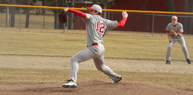Constantine and Mendon baseball teams lock horns in split to start the year