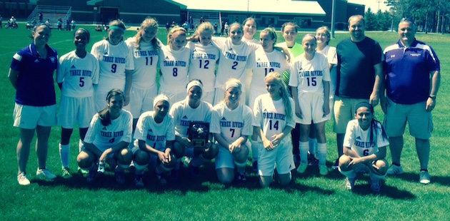 Three Rivers soccer team wins home tournament