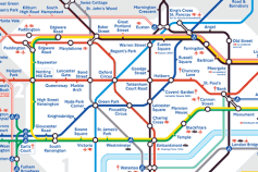 London Underground Beck&#39;s Map
