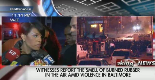 Was the Mayor of Baltimore just caught in a lie?