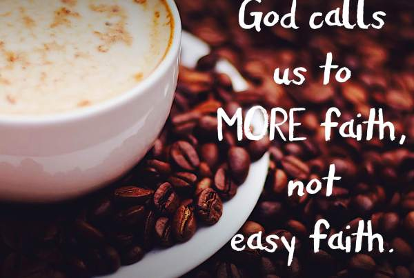 More Faith