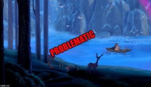 problematic pocahontas