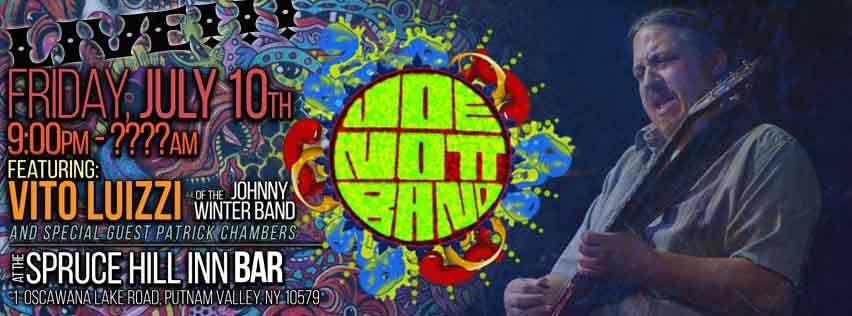 Joe Nott Band - Live July 10th