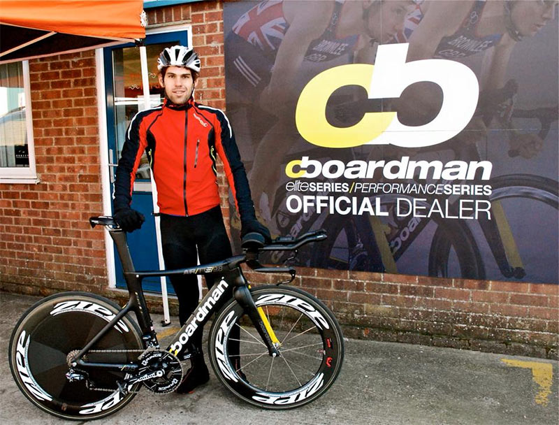 Boardman Air TTE 9.8 and Joe Skipper