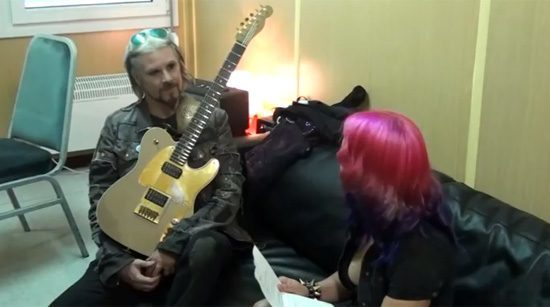 John 5 interviewed by Rockbook Magazine