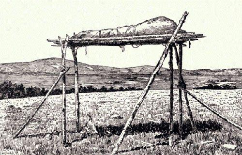 scaffold-burial