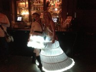Illuminode LED dresses