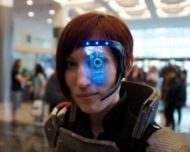 Stunning Mass Effect costume