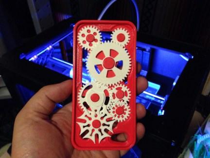 Geared iPhone 5 case