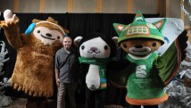 Me and the Olympic Mascots
