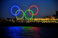 Coal Harbour Olympic Rings
