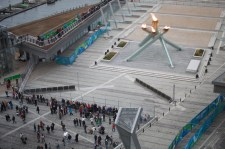 The Cauldron from above