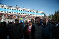 Whistler crowds