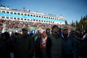 Whistler crowds