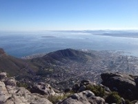 The other side of Cape Town
