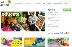Art in Action website