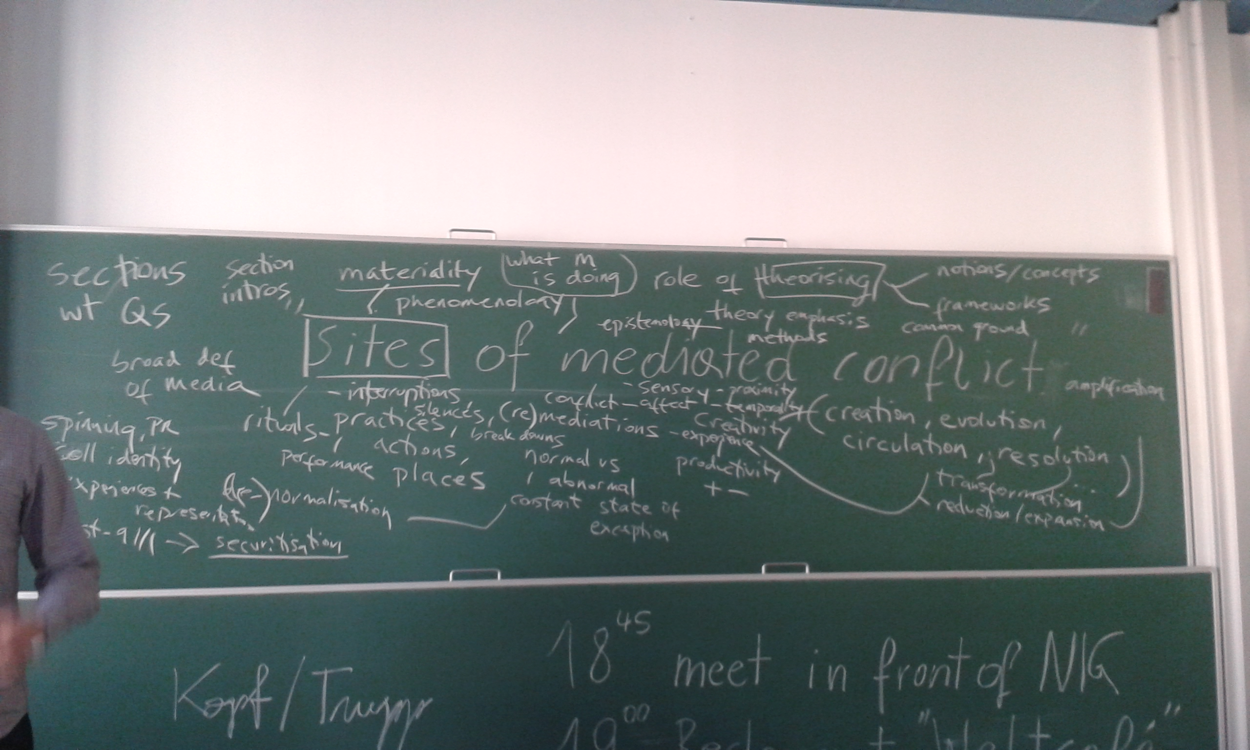 blackboard 2 - sites of mediated conflict
