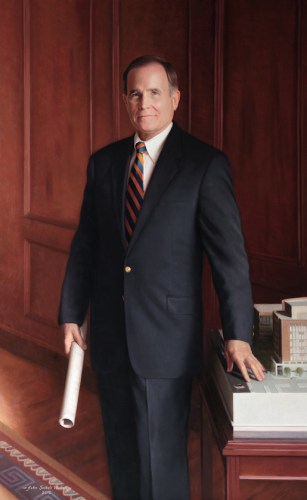 William Stuart Smith Executive Director MUSC Medical Center Charleston, South Carolina Oil on linen 64 x 40 inches