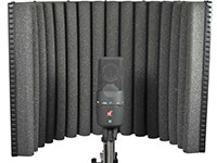 "A key tool (though not the only one) for getting good vocal recordings in non-optimal rooms. The reflexion filter provides a small, acoustically dead area to record vocals in, counteracting the worst effects of overly ""live"" rooms."