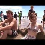 ニュージーランド – 温泉ビーチ New Zealand – Hot Water Beach #アイドル #idol #followme