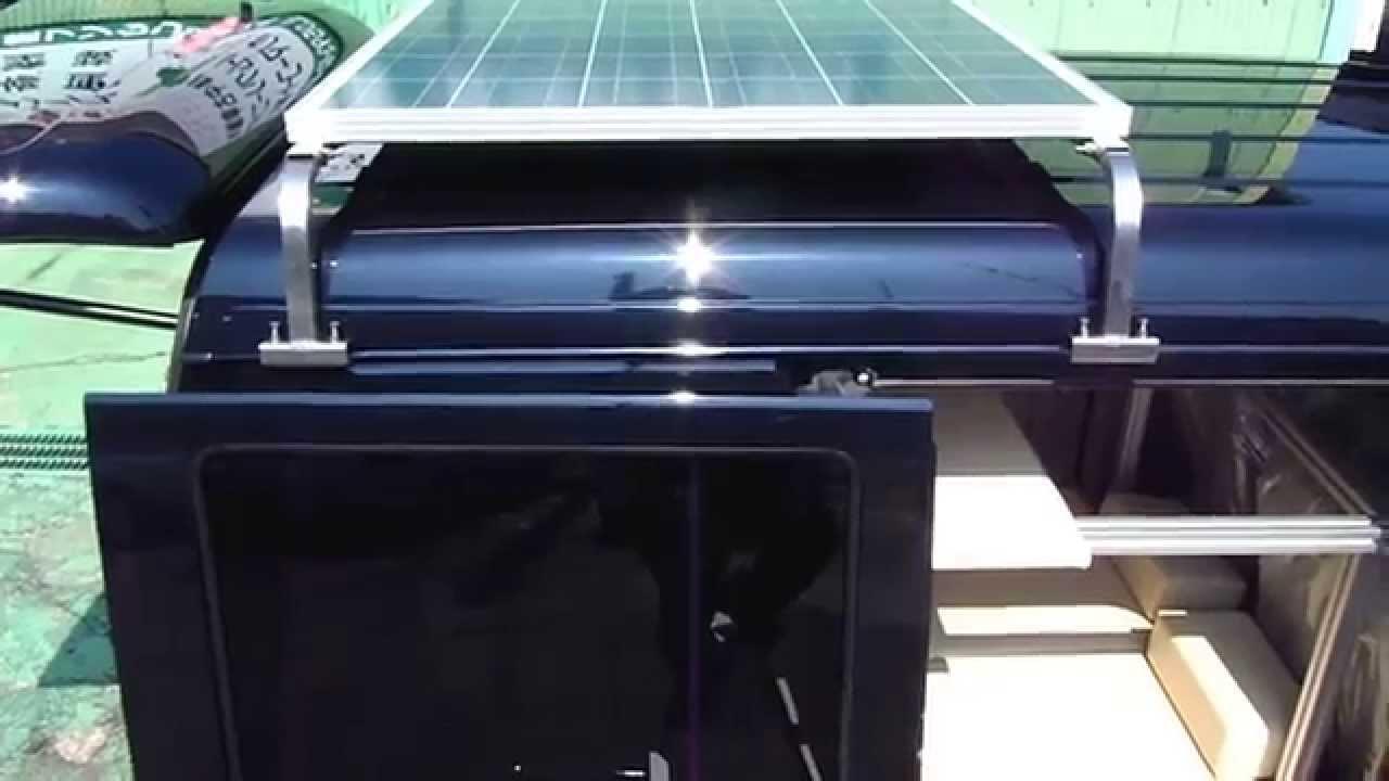 軽キャンピングカー 太陽光発電ソーラーパネル車載 #太陽光発電 #エコ #followme