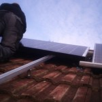 Our solar panel installation day for Jo Ind's blog