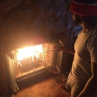 Omarion Shows Off His 'Wood' While Lighting A Fire