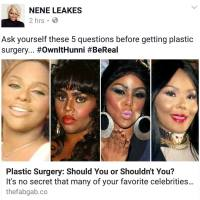 "Really? Girl Bye: Nene Leakes Throws ""Plastic Surgery"" Shade at Lil Kim, Twitter Drags Her By Her Nose & Wig [Photos]"