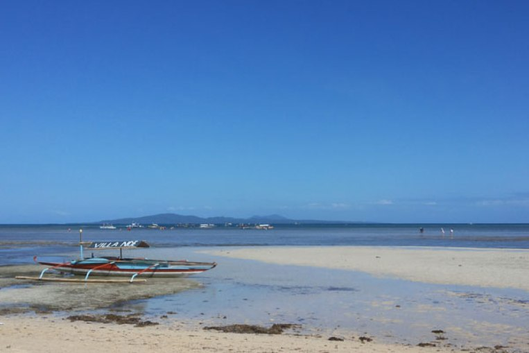Low tide in Cagbalete