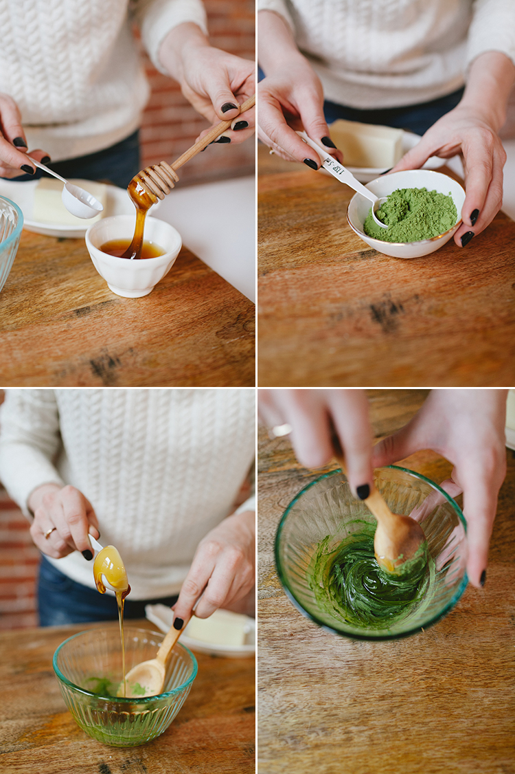 salty honey-matcha butter + The Year of Cozy giveaway // jojotastic.com