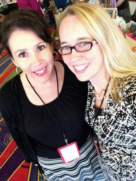 Jolene Engle and Michelle Debenport