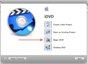 idvd magic dvd project