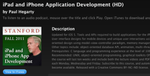apple ios free development training video series