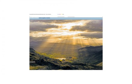 EDITORIAL PHOTOGRAPHER - Little Langdale, Cumbria: An image from the shoot appeared in the Guardian Eyewitness centerfolds