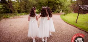 North Yorkshire Wedding Photographer - The Three Bridesmaids