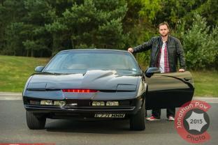 Kitt Knightrider car recreated by fan Scott Bainbridge - Picture date Sunday 28 September, 2014 (Murton, Tyne and Wear) Photo credit should read: Jonathan Pow/jp@jonathanpow.com REF : POW_140928_7503