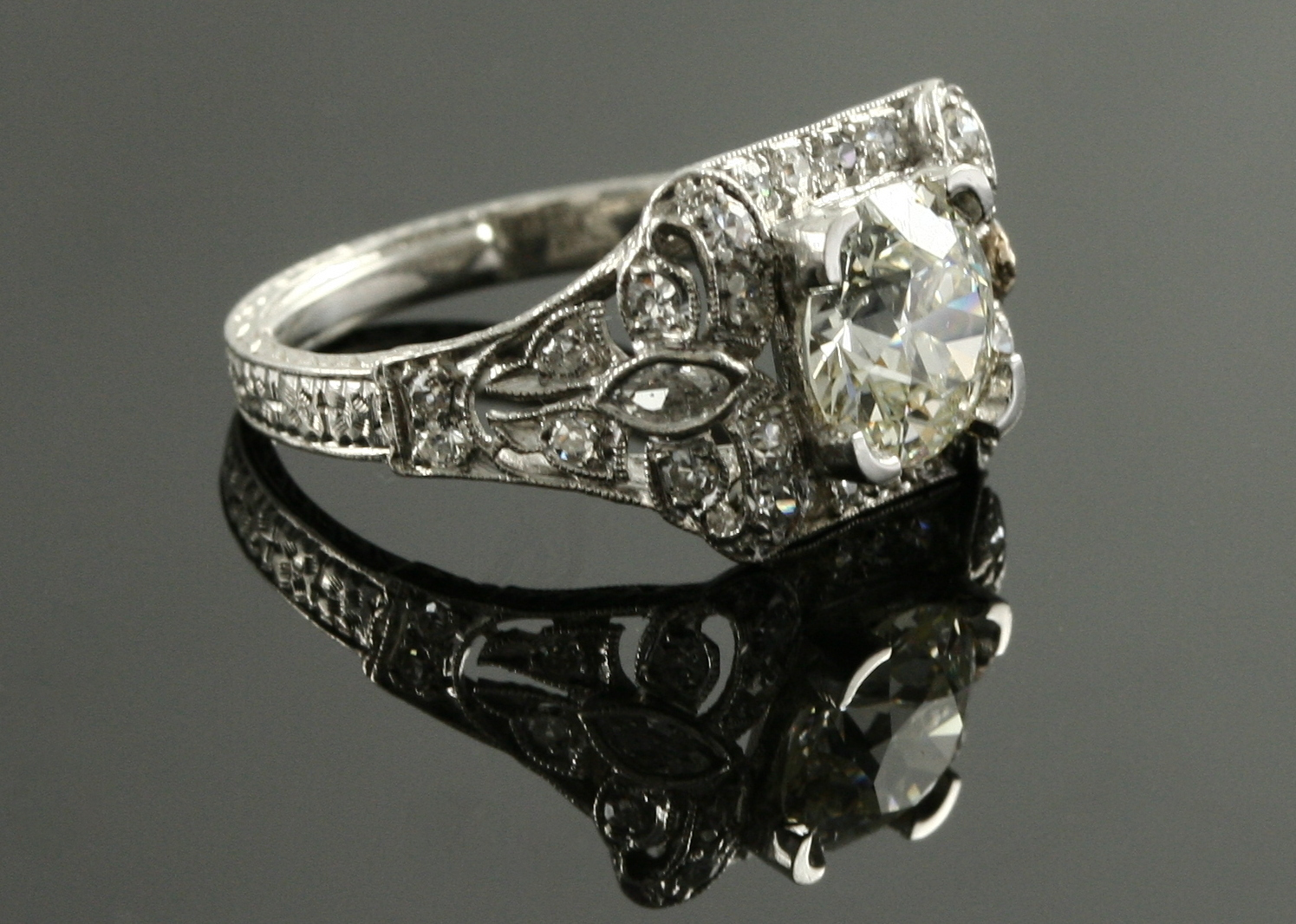 antique engagement rings antique wedding ring sets Antique Engagement Ring