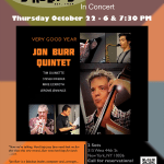 CD Release Event – Birdland Oct 22