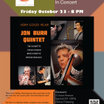 CD Release Event – Union Arts Center Oct 23