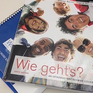 Wie Geht's German textbook