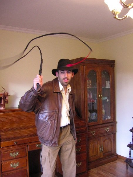 Christopher as Indiana Jones for Halloween 2006.