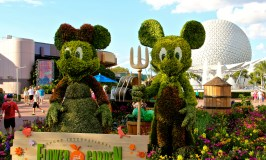 2015 Epcot Flower & Garden Festival Topiaries