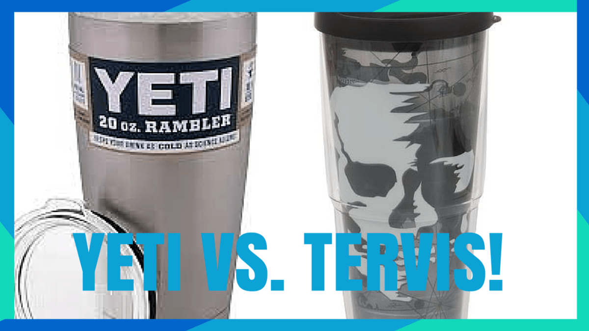Battle of the Travel Cups Yeti vs Tervis!